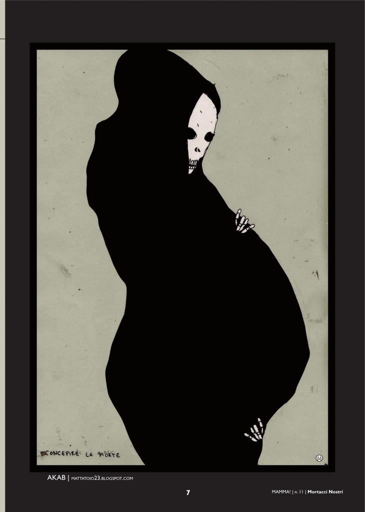 Illustrazione di Akab per Mamma! 11